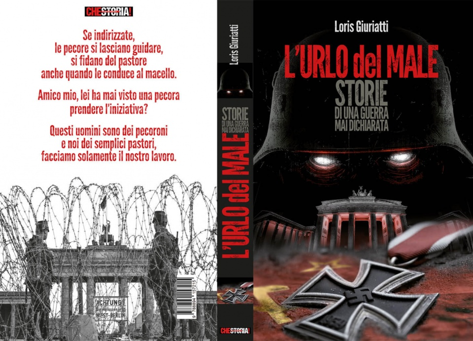 Copertina romanzo Urlo del Male Storie di una guerra mai dichiarata di Loris Giuriatti