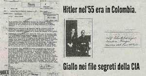 Nel 1955 Hitler era in sud America. Giallo nei file segreti della CIA
