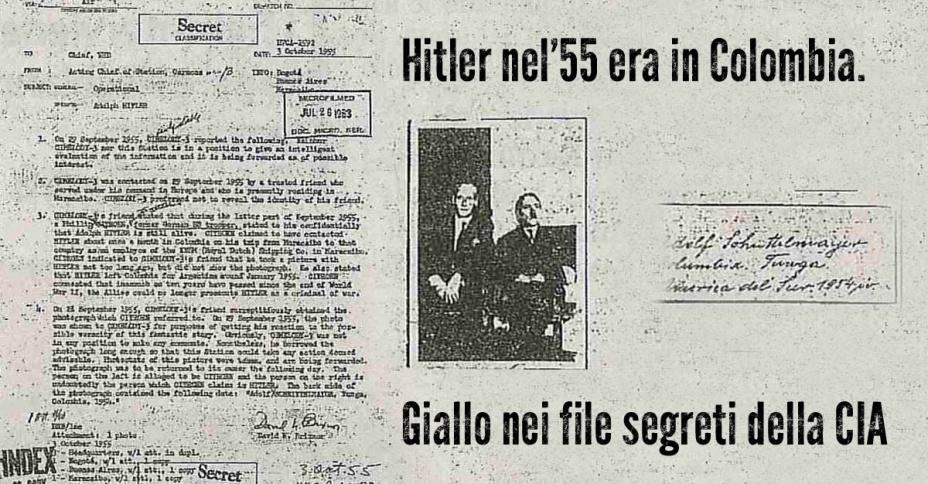 nel 1955 Hitler era in sud America